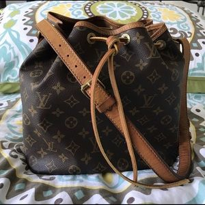 Authentic Louis Vuitton Noe Petit